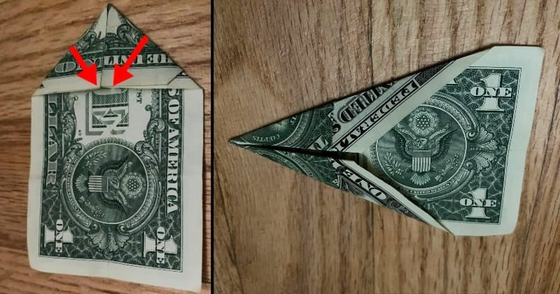 Dollar Bill Origami Star 5