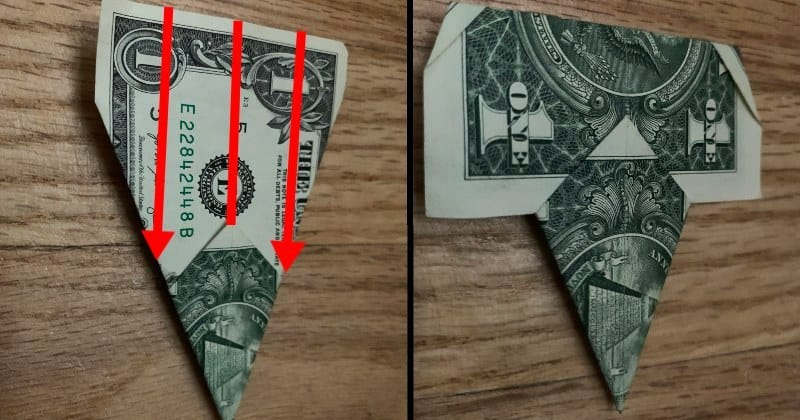 Dollar Bill Origami Star 6