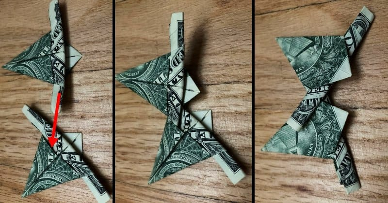 Dollar Bill Origami Star 9a