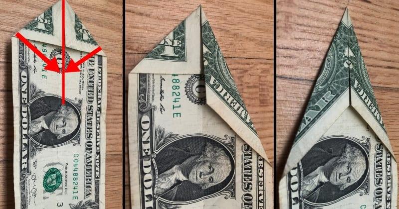 dollar bill origami tree 3
