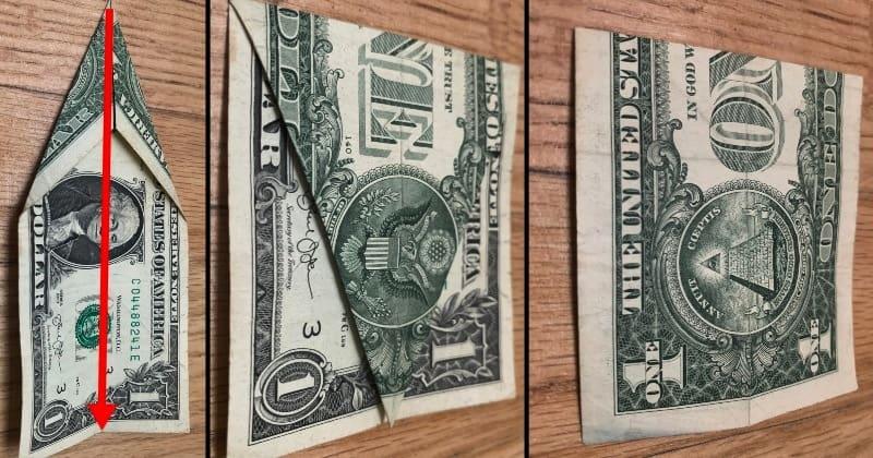 dollar bill origami tree 4