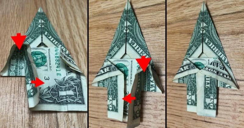 dollar bill origami tree 7