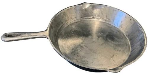 Polished Cast Iron