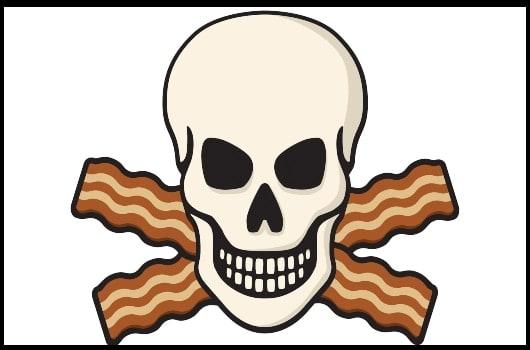 bacon death