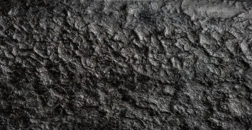 black coating on cast iron