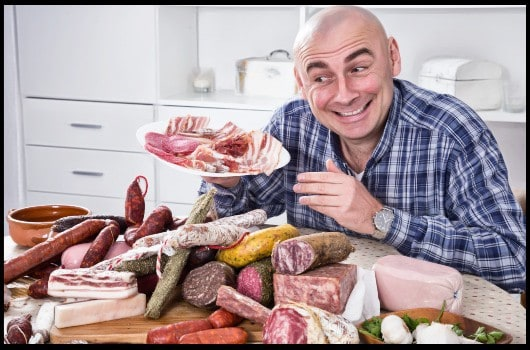 men love bacon