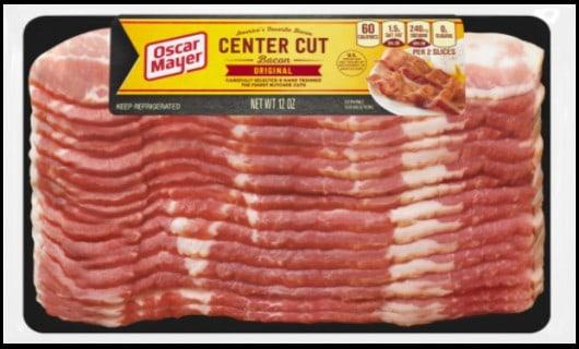 oscar meyer sliced bacon