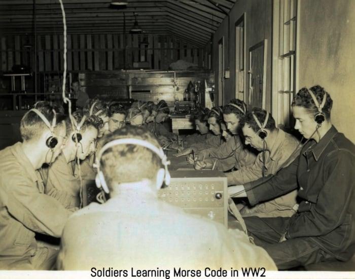 training morse code ww2