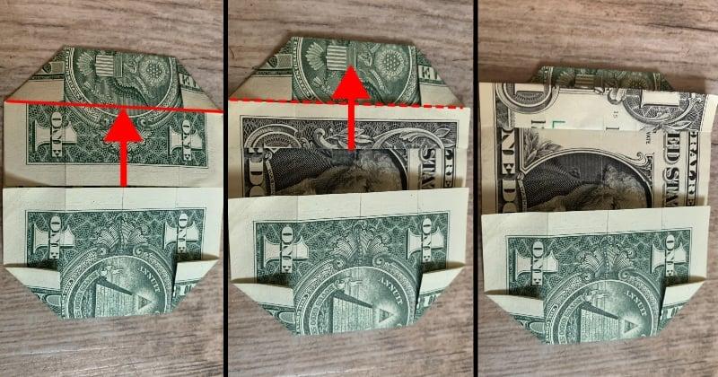 dollar bill origami box 6