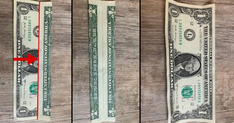 dollar bill origami shirt 2