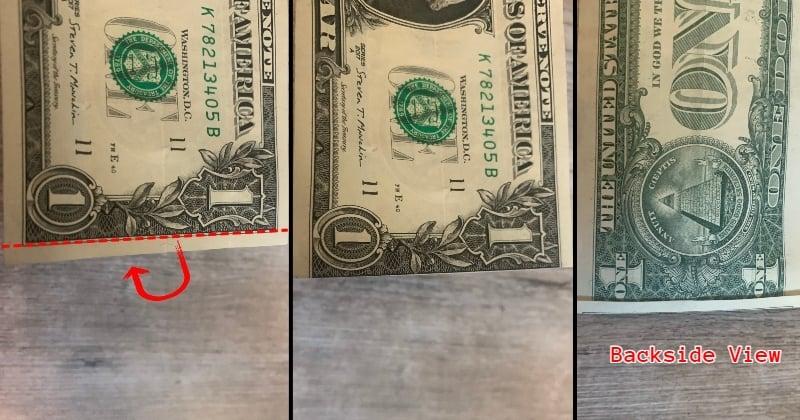 dollar bill origami shirt 3