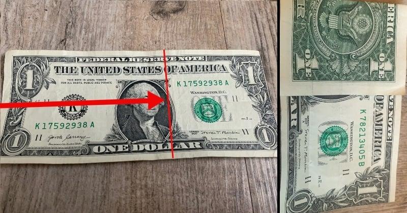 dollar bill origami shirt 4
