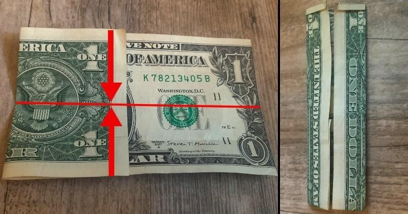 dollar bill origami shirt 5