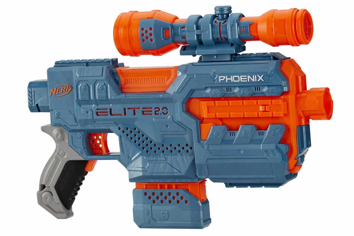 nerf elite 2.0 phoenix cs 6 motorized blaster